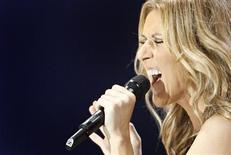 <p>Cantora canadense Celine Dion em Quebec. 22/08/2008. REUTERS/Mathieu Belanger</p>