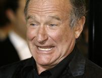 "<p>Ator Robin Williams, estrela no filme ""World's Greatest Dad"", em Los Angeles. 13/08/2009. REUTERS/Fred Prouser</p>"