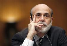 <p>Il capo della Federal Reserve Ben Bernanke. REUTERS/Kevin Lamarque (UNITED STATES POLITICS BUSINESS IMAGES OF THE DAY)</p>