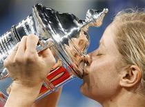 <p>Belga Kim Clijsters voltou ao ranking em 19o após título do Aberto dos EUA. REUTERS/Kevin Lamarque</p>
