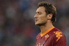 <p>Il capitano della Roma Francesco Totti. REUTERS/Tony Gentile</p>