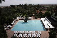 <p>Gardens of the Mamounia hotel are seen in Marrakesh September 18, 2009. REUTERS/Jean Blondin</p>