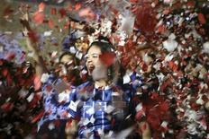 <p>Em crise pós-golpe, Honduras comemora vaga na Copa do Mundo. REUTERS/Oswaldo Rivas</p>