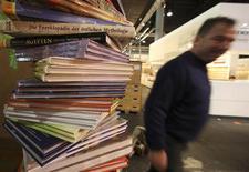 <p>A Feira de Livros de Frankfurt deste ano, que ocorre entre 14 e 18 de outubrom, homenageou a China. REUTERS/Ralph Orlowski</p>