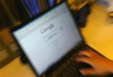 <p>La home page cinese di Google. REUTERS/Jason Lee (CHINA)</p>