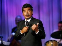 <p>Comedian George Lopez performs at the 53rd annual Thalians gala in Beverly Hills, California in this November 2, 2008 file photo. REUTERS/Mario Anzuoni</p>