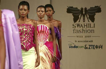 Fashion Show Hails Kanga As East Africa S Kimono Reuters