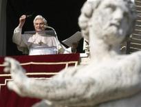 <p>Papa Benedetto XVI. REUTERS/Chris Helgren</p>