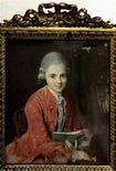 <p>Miniature de Wolfgang Amadeus Mozart enfant. Les résultats de tests intellectuels de Mozart à l'âge de 8 ans ou une étude sur la foudre signée Benjamin Franklin figurent au panthéon de l'histoire des avancées scientifiques publié par un site internet britannique. /Photo d'archives/REUTERS/Siggi Bucher</p>