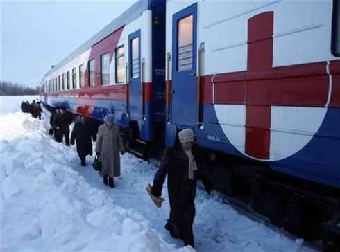 All aboard the health train