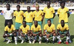 <p>Seleção de Togo durante eliminatórias da Copa 2010 foi oficialmente desclassificada da Copa Africana. REUTERS/Noel Kokou Tadegnon/Files</p>