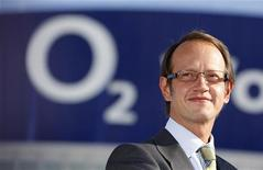 <p>Jaime Smith, amministratore delegato di O2. Foto d'archivio. REUTERS/Johannes Eisele</p>