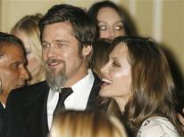 <p>Brad Pitt e Angelina Jolie. REUTERS/Fred Prouser</p>