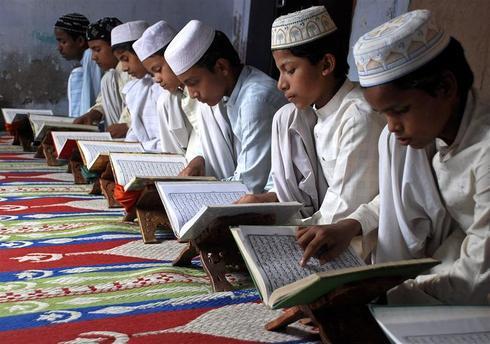 Inside madrasas