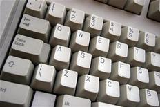 <p>La tastiera di un pc. REUTERS/Catherine Benson CRB</p>