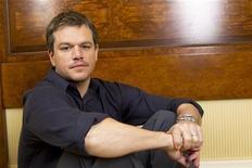 """<p>Ator Matt Damon promove seu filme """"Zona Verde"""" em Nova York. Em entrevista à Reuters, Damon falou sobre o filme e o processo das filmanges. 26/02/2010 REUTERS/Lucas Jackson</p>"""