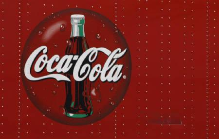 File photo of the Coca-Cola logo in Niles, Illinois February 12, 2009. The Indian unit of Coca-Cola Co has been asked to pay $47 million compensation for causing environmental damage at its bottling plant in Kerala, state officials said on Tuesday. REUTERS/John Gress/Files