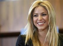<p>La cantante Shakira in foto d'archivio. REUTERS/Denis Balibouse</p>