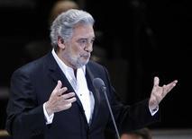 <p>Il tenoro spagnolo Placido Domingo in foto d'archivio. REUTERS/Eliana Aponte</p>