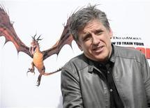 """<p>Ator Craig Ferguson comparece à estreia do filme """"Como Treinar o Seu Dragão"""" em Los Angeles. Surpreendentemente, a nova comédia de ação infantil, """"Kick Ass"""" (""""Quebrando Tudo"""") não conseguiu chegar ao primeiro lugar da bilheteria norte-americana, perdendo por pouco a corrida para o filme """"Como Treinar o seu Dragão"""", de acordo com as estimativas divulgadas neste domingo pelos estúdios. 21/03/2010 REUTERS/Phil McCarten</p>"""