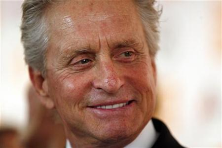 Honoree Michael Douglas arrives for The Film Society of Lincoln Center's 2010 Chaplin Award Gala honoring him in New York City May 24, 2010. REUTERS/Jessica Rinaldi