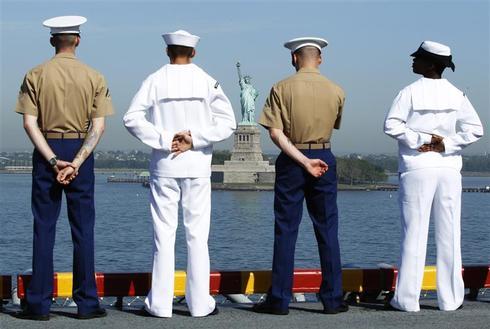 All aboard the USS Iwo Jima