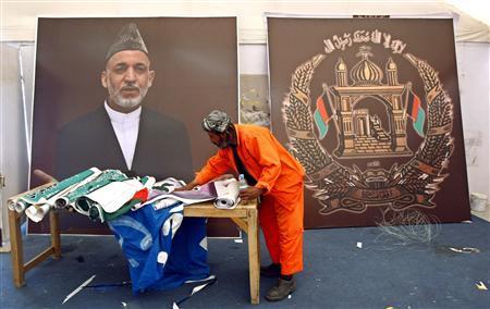 Afghans seek modern peace in traditional style