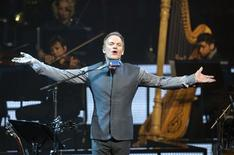 <p>Musician Sting performs on the opening night of his Symphonicity Tour, which features the Royal Philharmonic Concert Orchestra conducted by Steven Mercurio, in Vancouver, British Columbia June 2, 2010. REUTERS/Andy Clark</p>