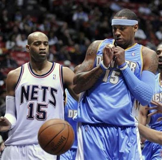 e45c97218759 Nuggets re-sign Carter and add ex-Celtic Williams.  p New Jersey Nets guard  Vince ...