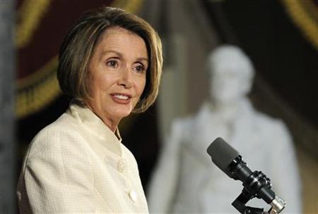 House Speaker Nancy Pelosi (D-CA) at the U.S. Capitol in Washington, June 24, 2010. REUTERS/Jonathan Ernst