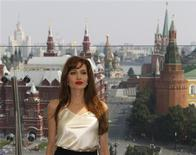 <p>U.S. actress Angelina Jolie attends a photo call ahead of the Russia premiere of her movie Salt in Moscow, July, 25, 2010. REUTERS/Sergei Karpukhin</p>