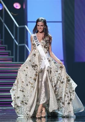 Miss Universe: evening gowns