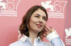 """<p>Sofia Coppola, director of the in-competition film """"Somewhere"""", poses for photographers during a photocall at the 67th Venice Film Festival September 3, 2010. REUTERS/Alessandro Bianchi</p>"""