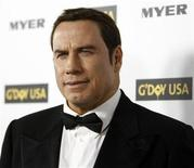 <p>Actor John Travolta poses at the G'Day USA 2010 Los Angeles gala in Hollywood, California in this January 16, 2010 file photo. REUTERS/Mario Anzuoni</p>