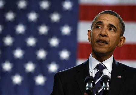 U.S. President Barack Obama speaks about the economy at the Cuyahoga Community College West Campus in Parma, Ohio, near Cleveland, in this September 8, 2010 file photo. REUTERS/Larry Downing