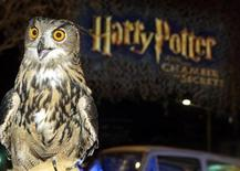 "<p>A European eagle owl Tacoma, which is featured in the new film ""Harry Potter and the Chamber of Secrets"" poses at the film's Los Angeles premiere in Los Angeles, November 14, 2002. REUTERS/Fred Prouser</p>"