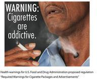 <p>FDA Proposed Graphic Health Warnings for Cigarettes. REUTERS/FDA/Handout</p>