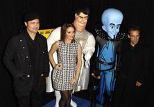 """<p>Imagen de archivo de parte del elenco de """"Megamind"""" durante el estreno de la película en Nueva York. Nov 3 2010 La comedia animada """"Megamind"""" ocupó por segundo fin de semana consecutivo la cima de la taquilla cinematográfica en Estados Unidos, al recaudar 30 millones de dólares y superar a nuevos estrenos como """"Unstoppable"""". EUTERS/Lucas Jackson/ARCHIVO</p>"""