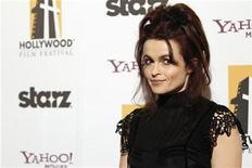 <p>British actress Helena Bonham Carter poses at the 14th Annual Hollywood Awards Gala in Beverly Hills, California October 25, 2010. REUTERS/Mario Anzuoni</p>