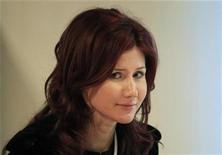 <p>Former Russian spy Anna Chapman is seen after a meeting of the commission on economic modernization and technological development of the Russian economy, at the Skolkovo Innovation Centre outside Moscow December 14, 2010. REUTERS/Sergei Karpukhin</p>