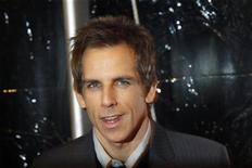 """<p>Imagen de archivo de Ben Stiller, protagonista de la película """"Little Fockers"""", en la premiere de la cinta en Nueva York. dic 15 2010. Robert De Niro y Ben Stiller lideraron la taquilla británica durante el fin de semana de Navidad luego de que """"Little Fockers"""" superara a Narnia, según informó el jueves Screen International. REUTERS/Lucas Jackson/Archivo</p>"""