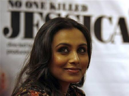 Bollywood actress Rani Mukherjee attends a news conference to promote her new film ''No One Killed Jessica'' in December 20, 2010. The film is scheduled to be released January 7, 2011. REUTERS/Amit Dave/Files