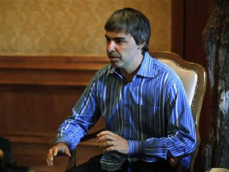 Google visionary Larry Page back in the CEO saddle - Reuters
