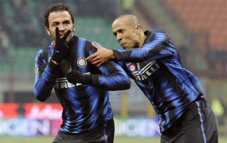 サッカー=インテルが逆転勝ち、新加入パッツィーニが2得点 | Reuters