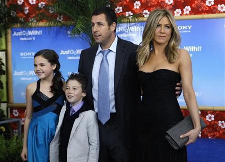 Adam Sandler, Jennifer Aniston eye box office crown