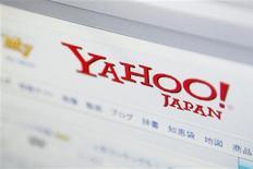<p>Yahoo est en discussions avancées pour sortir de sa coentreprise japonaise afin de résoudre les dysfonctionnements de ses partenariats en Asie et de lever jusqu'à huit milliards de dollars pour lutter contre Google et Facebook, selon des sources au fait de la situation. /Photo d'archives/REUTERS</p>