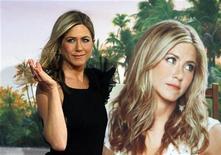 """<p>Jennifer Aniston na estreia do filme """"Esposa de Mentirinha"""" em Berlim, na Alemanha. O filme estreia nesse final de semana em circuito nacional. 21/02/2010 REUTERS/Thomas Peter</p>"""