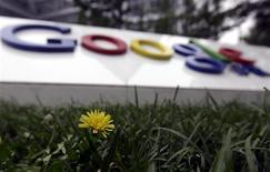 <p>Les autorités chinoises ont rejeté les déclarations de Google les accusant d'entraver l'accès des internautes à son service de messagerie Gmail, un nouvel épisode dans les relations houleuses entre le géant de l'internet et Pékin. /Photo d'archives/REUTERS/Jason Lee</p>