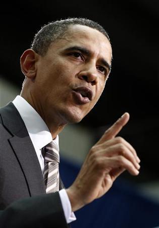US-Präsident Barack Obama in Santiago de Chile am 21. März 2011. REUTERS/Kevin Lamarque