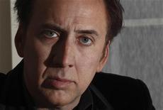 """<p>Nicolas Cage posa para foto em hotel no centro de Londres. Seu novo filme """"Fúria Sobre Rodas"""" estreia neste final de semana em circuito nacional. l30/11/2010 REUTERS/Andrew Winning</p>"""